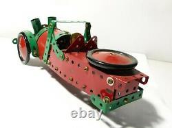 Vintage Meccano Aero Morgan 3 Wheeled Car 11 long Made up #M2