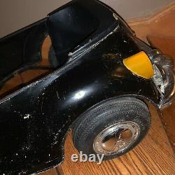Vintage Metal Volkswagon VW Push Pedal Ride In Car Kids Unisex Decor Collector