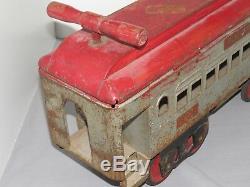 Vintage Original 1930's KEYSTONE PULLMAN #6800 Pressed STEEL RIDE ON TRAIN Car
