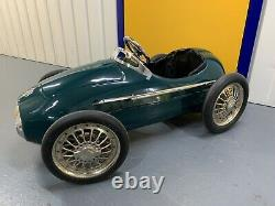 Vintage Pedal Car Ferrari Maserati style F1 Barn Find FREE U. K. Delivery