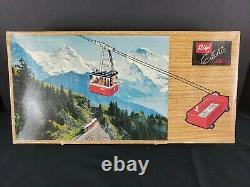 Vintage RIGI 900 E Electric Tin Cable Car Railway Lehmann Germany COMPLETE
