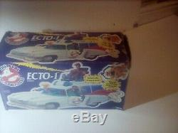 Vintage Real Ghostbusters Kenner Ecto 1 Car Boxed complete. Rare. Vintage