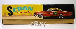 Vintage Red China # MF 830 SEDAN CAR with Openable doors & Original Box
