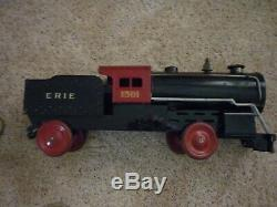Vintage Ride-on Train And Baggage Car-steelcraft-1930's