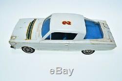 Vintage STROMBECKER CHRYSLER BARRACUDA slot car racing set 132 DEALER