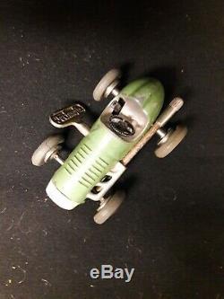 Vintage Schuco Micro Racer Toy Car, Green #1