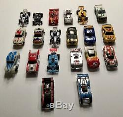 Vintage Slot Car Lot Of 19, Tyco, Tommy, Lifelike, etc, Please See Pictures