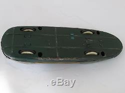 Vintage Space Race Car No. 36 Tin Litho Friction Modern Toys