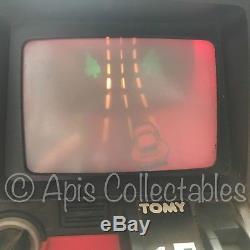 Vintage TOMY TURNIN' TURBO 1980s Dashboard Steering Wheel Car RACING GAME