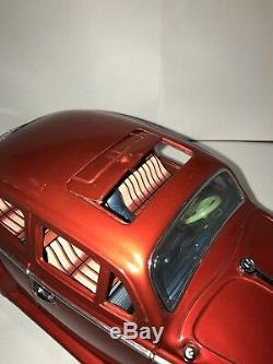 Vintage Tin Car Bandai 1958 King Size Volkswagen 15 Sedan