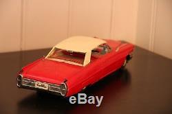 Vintage Tin Car Ichiko Cadillac Vintage Toy Made in Japan