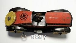 Vintage Tin Litho Windup Marx Race Speedster / Racer / Roadster Car 8