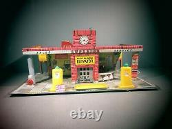 Vintage Tin Superior Service Station garage car