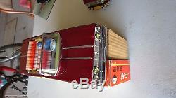Vintage Tin Toy Shanghai Open Car Me-677 Made In China With Box
