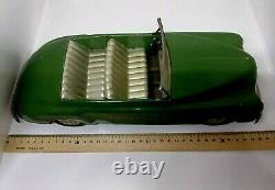 Vintage Tin Toy ZIM GAZ BIG 35 cm. Car Cabrio Limousine USSR 1950s