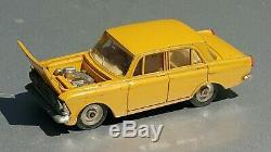 Vintage Toy Car Moskvich 408 A1 71 Moskvitch Diecast 1/43 Cccp Soviet Era Ussr