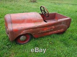 Vintage Triang Pedal Car Vintage. All original