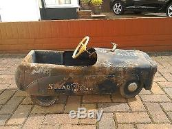 Vintage Triang Pedal Squad Car for Restoration Offers