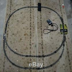 Vintage Tyco Road and Rail Car Train Railroad Race Set in Box 1988 Tested Works
