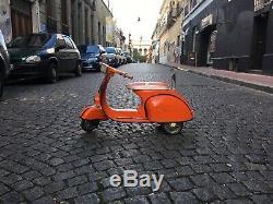 Vintage Vespa Scooter Pedal Car (rare)