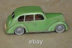 Vintage Wind Up Litho Pocke Car Tin Toy, Great Britain
