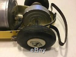 Vintage Woodette Tornado Racer Aluminum Indy Car Powered by Mot-Air-ette, RARE