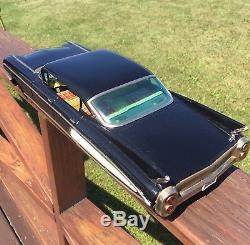 Vintage Yonezawa Japanese Tin Toy 1960 Cadillac DeVille Car 18 Large