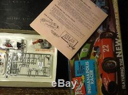 Vintage atlas ho slot car kit indy racer unopened