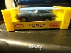 Vintage aurora tjet ho slot car slate blue jaguar