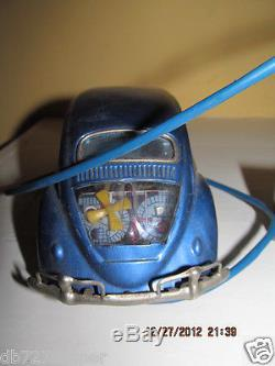 Vintage car volkswagen tin battery operated made in japan japanese motor old