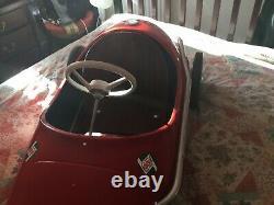 Vintage triang pedal car