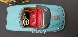 Vtg 1950's Tin Toy DISTLER Electro Matic 7500 PORSCHE 356 SPEEDSTE In Box
