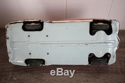 Vtg 1950s GAMA CADILLAC Western Germany Friction Tin Litho Toy Car
