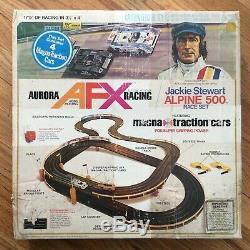 Vtg. 1979, Afx Racing, Jackie Stewart Alpine 500 Race Set (9 Cars Total!) Rare