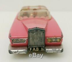 Vtg Dinky Toys No 100 Fab 1 Thunderbirds Lady Penelopes Pink Rolls Royce & Box