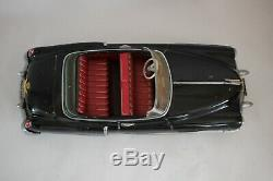 Vtg Japan ALPS CONVERTIBLE CADILLAC IN O/B Friction Tin Litho Toy Car Excellent