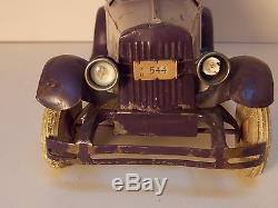 Wind Up Kingsbury Coupe Car With Music Box