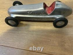 Wilbur Shaw, 1940's Aluminum Roadster Indy 500 Race Car, Original Unrestored