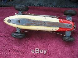 Yonezawa # 98 Indianapolis Racer Vintage 1950's Race Car