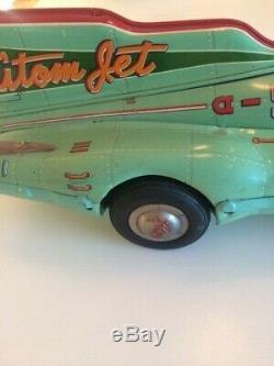Yonezawa Atom Jet Tin Car